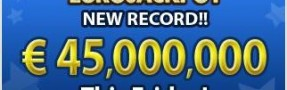EUROPE – EUROJACKPOT Next Draw OnLine. New Record!!
