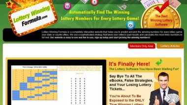 Best Lottery Software and Lottery System To Predict The Lottery from LotteryWinningFormula.com