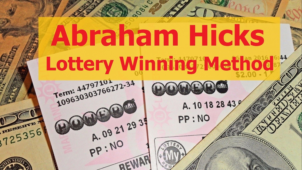 Abraham Hicks. Lottery Winning Method