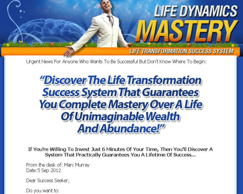 Life Dynamics Mastery Success Program