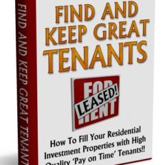 Find And Keep Great Tenants