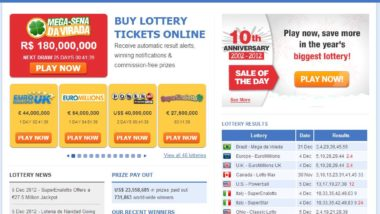 has anyone ever won a lottery onlie and been paid for it?